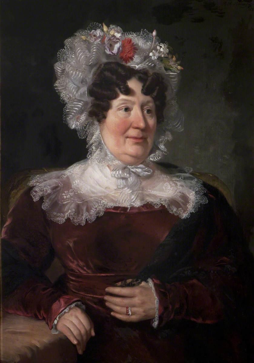 Félicité Anne Josephe de Wattines (1765–1850), Lady Scarsdale