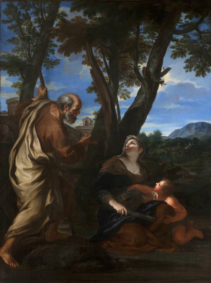 Elijah and the Widow of Serepta (Zarephath)