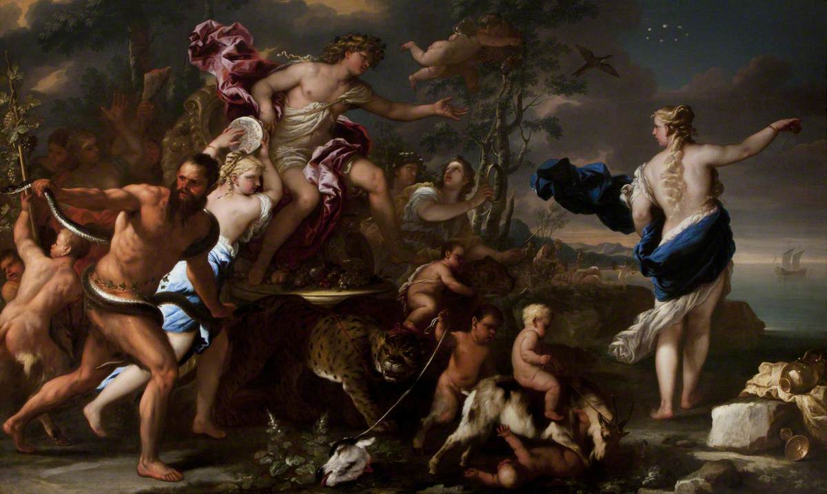The Triumph of Bacchus with Ariadne