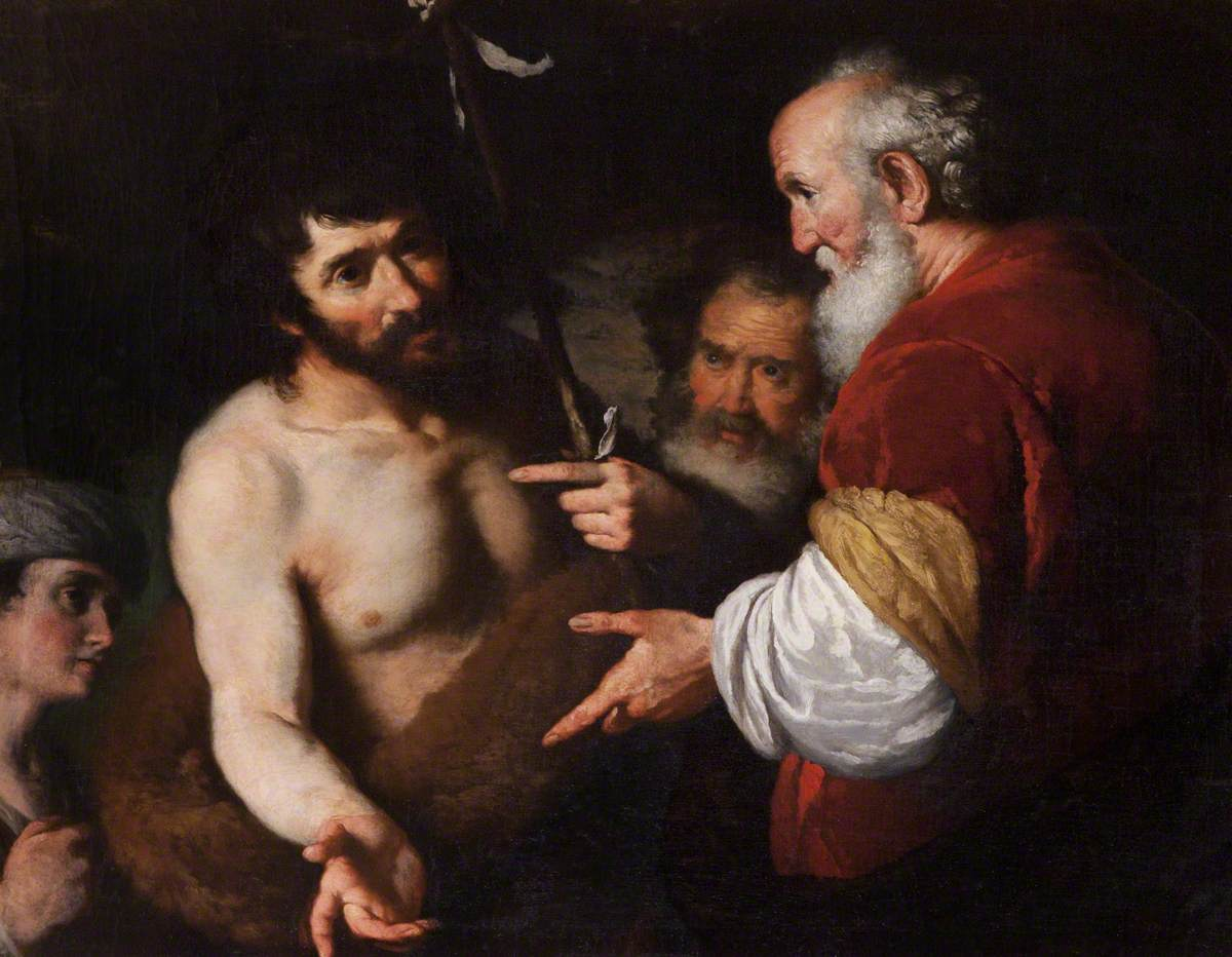 Saint John the Baptist Interrogated about Christ