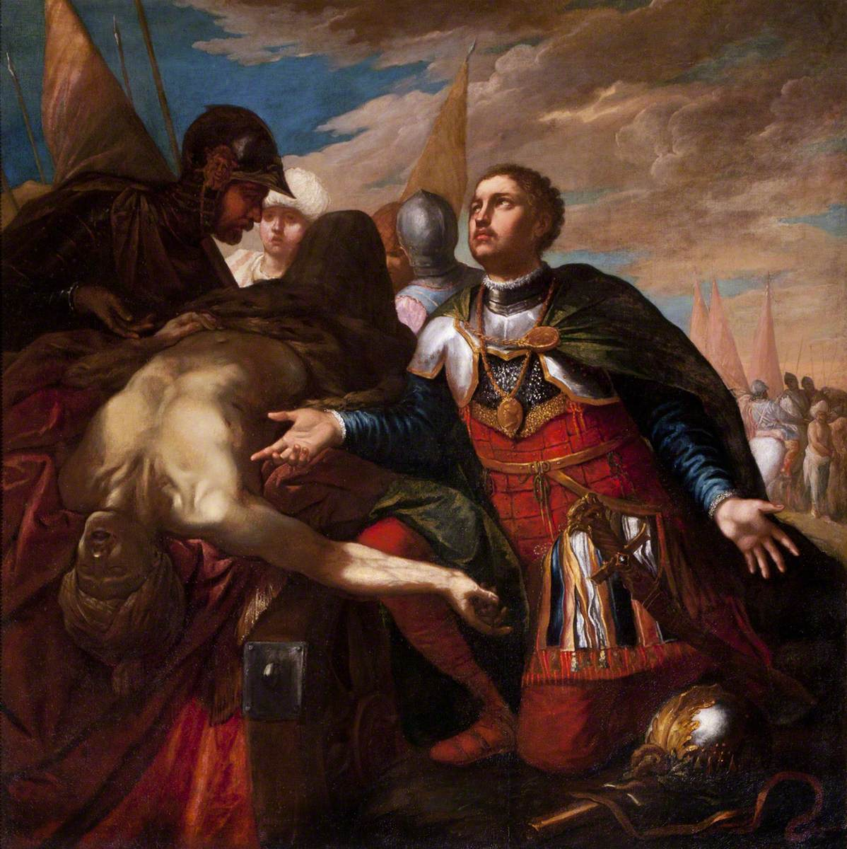Alexander and the Body of Darius