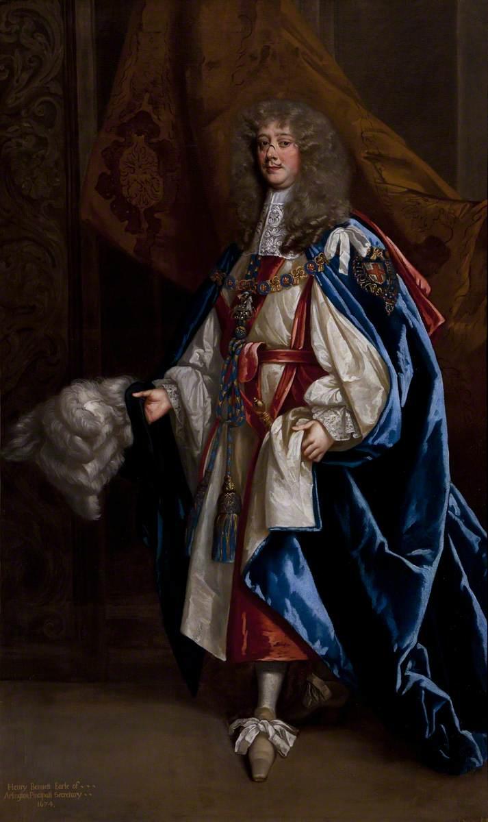 Henry Bennet (1618–1685), 1st Earl of Arlington, in Garter Robes