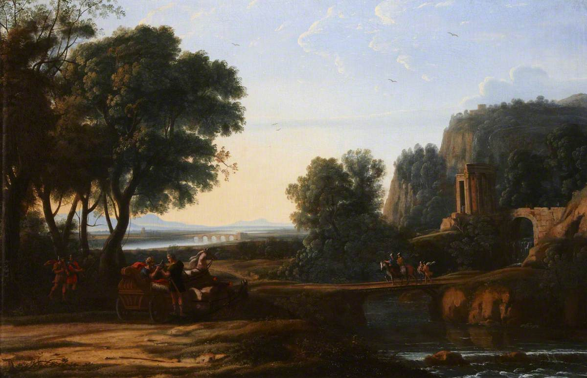 Classical Landscape with an Episode from the Life of Artaxerxes