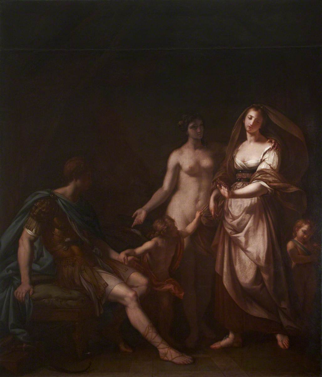 Venus Ushering Paris to Helen