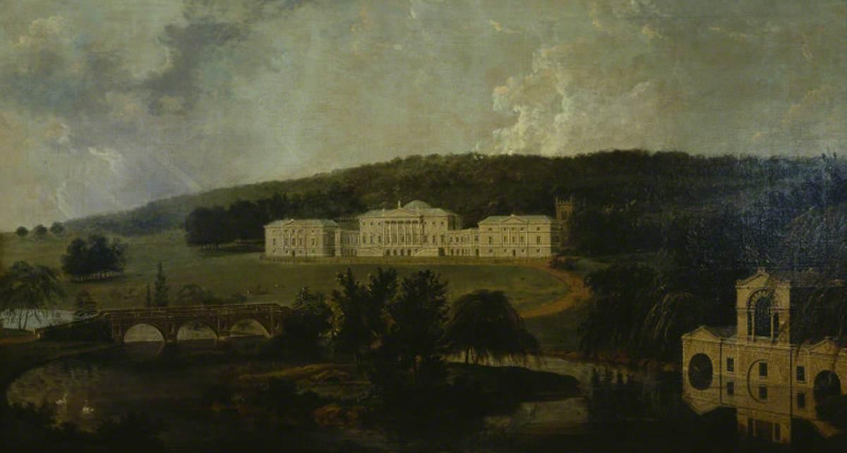 Kedleston Hall from the North