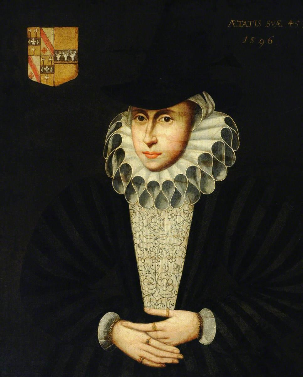 Mrs Jennyngs (b.1550/1551), Aged 45