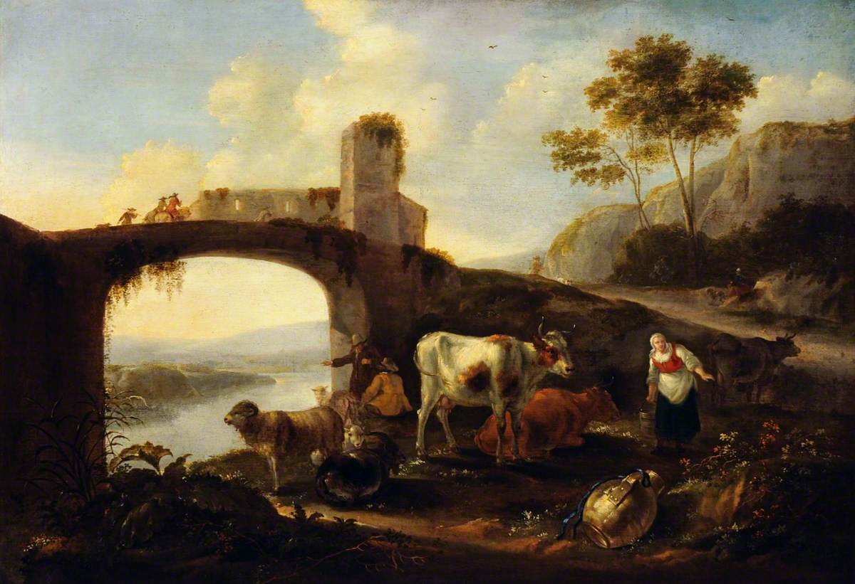 An Italianate Landscape