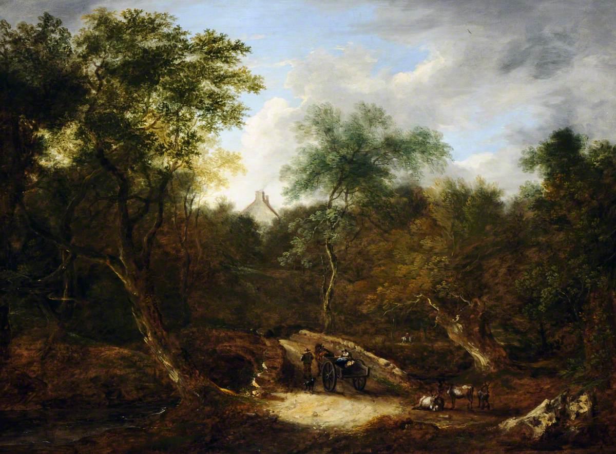 View at Wick, near Bath