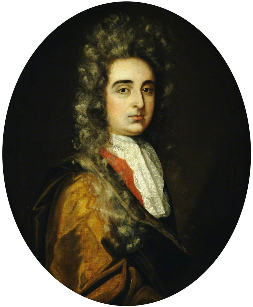 Portrait of an Unknown Man in a White Lace Cravat