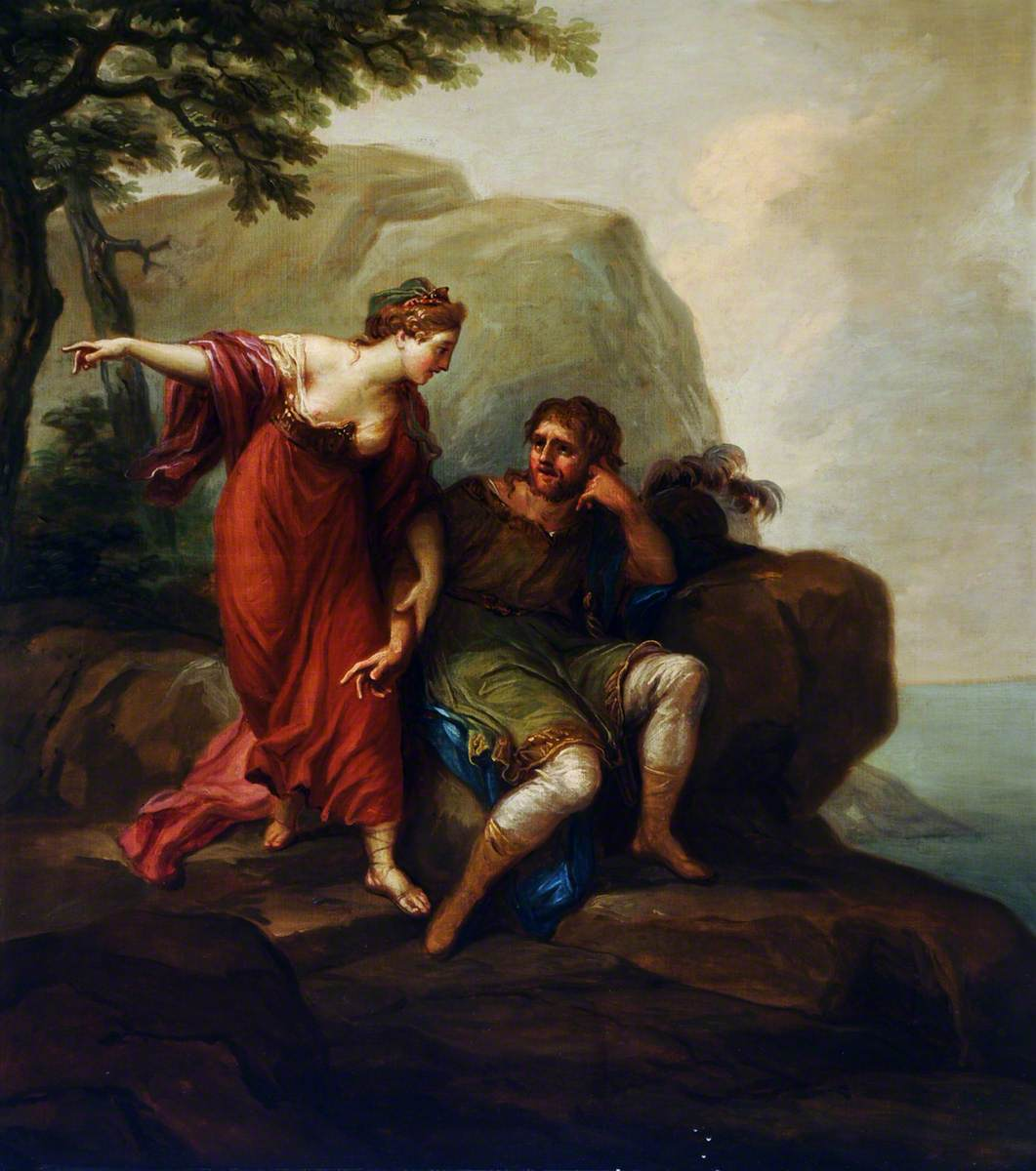 Dido and Aeneas (?)