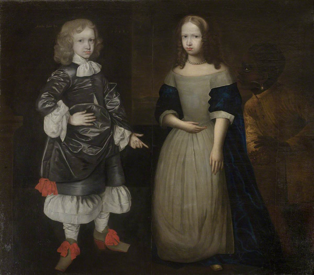 A Boy and a Girl and a Black Page