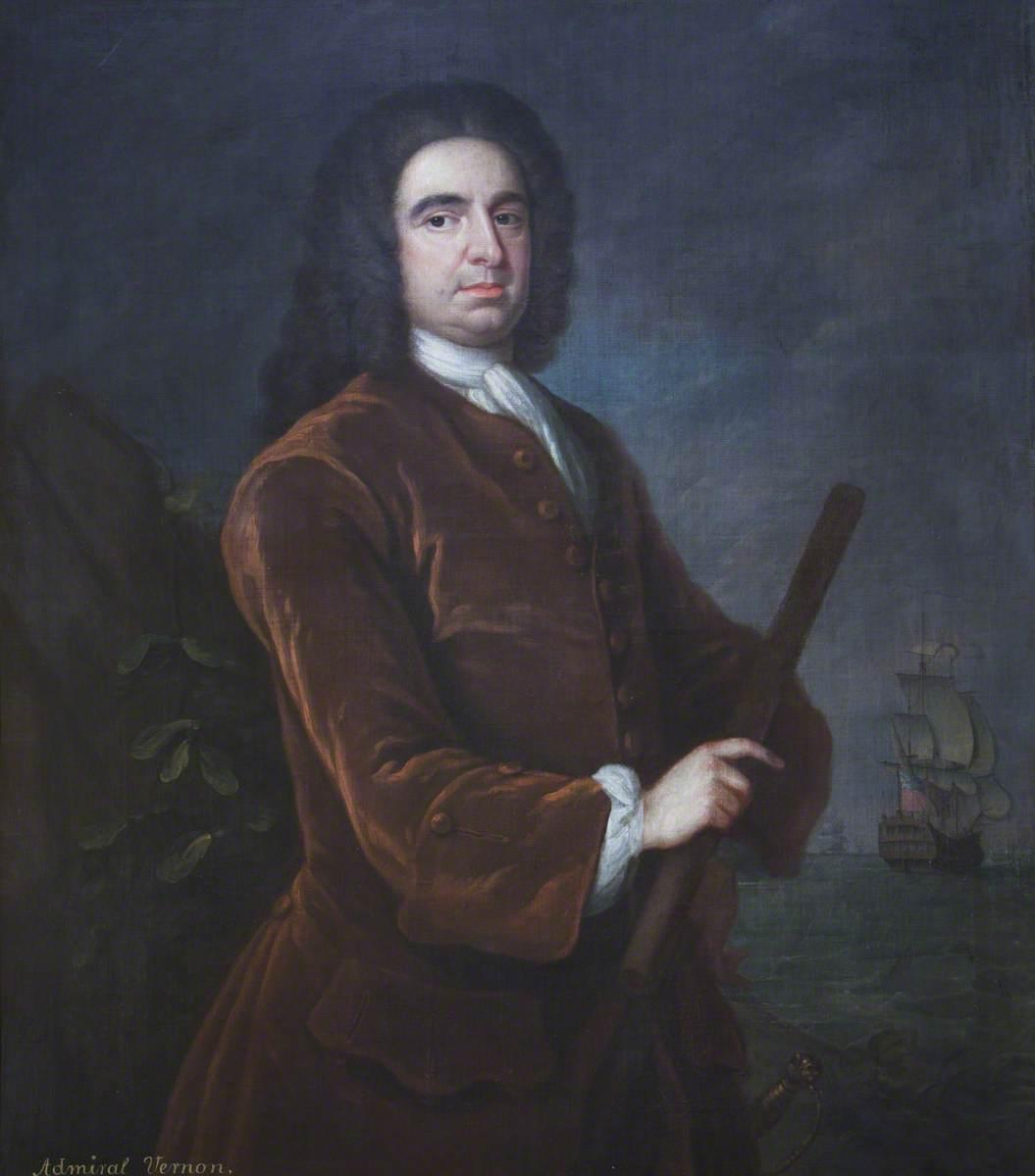 Admiral Edward 'Grog' Vernon (1684–1757)