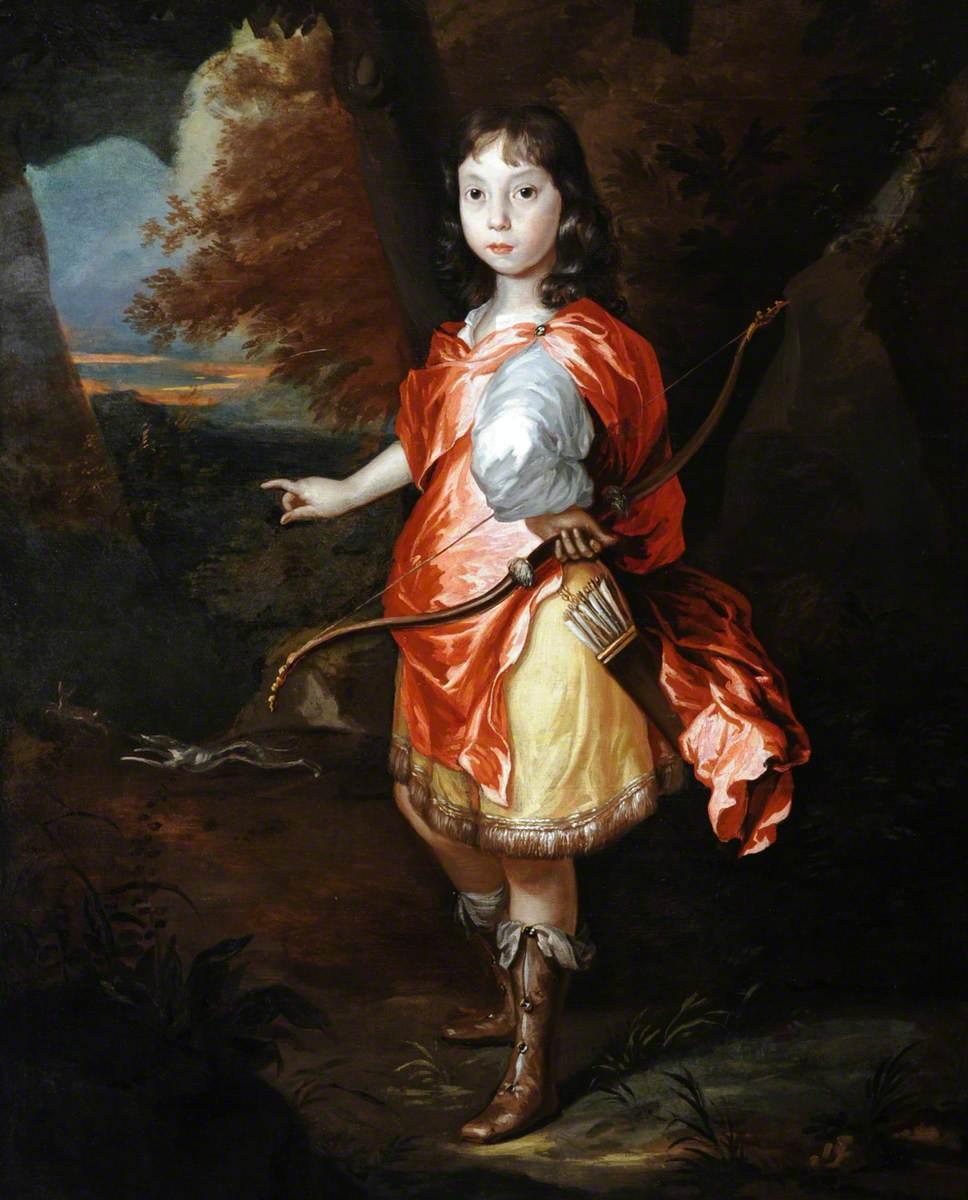 Portrait of an Unknown Boy as Apollo