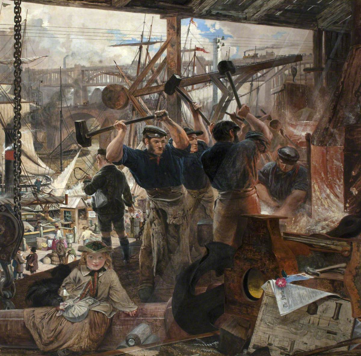 In the Nineteenth Century the Northumbrians Show the World what Can Be Done with Iron and Coal