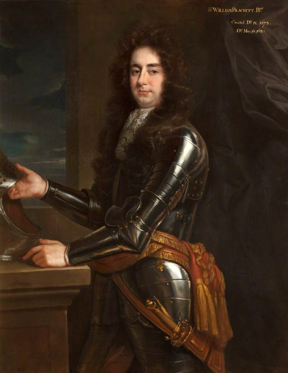 Probably Sir Edward Blackett (1651/1652–1718), 2nd Bt