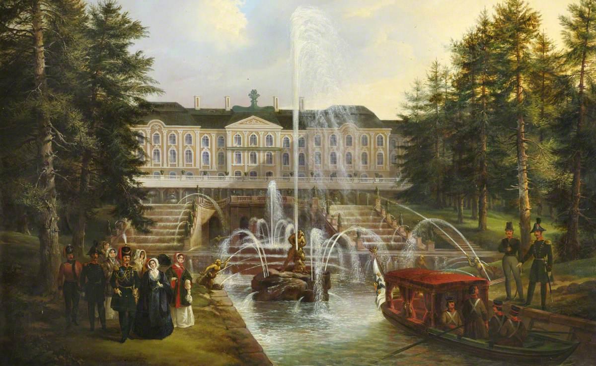 Palace of Peterhof, Russia