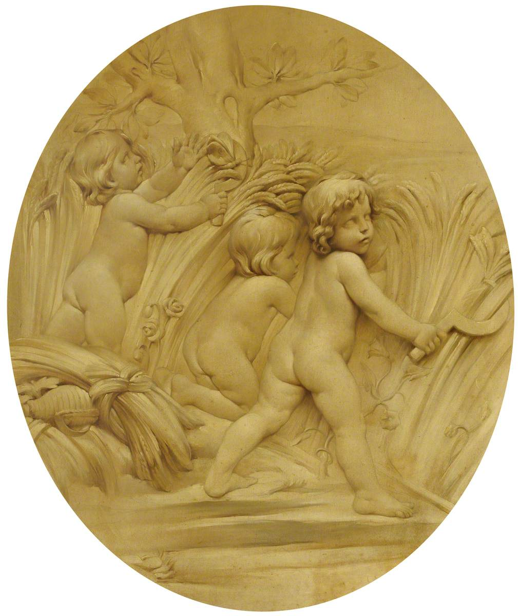 The Four Seasons: Summer, Putti Reaping