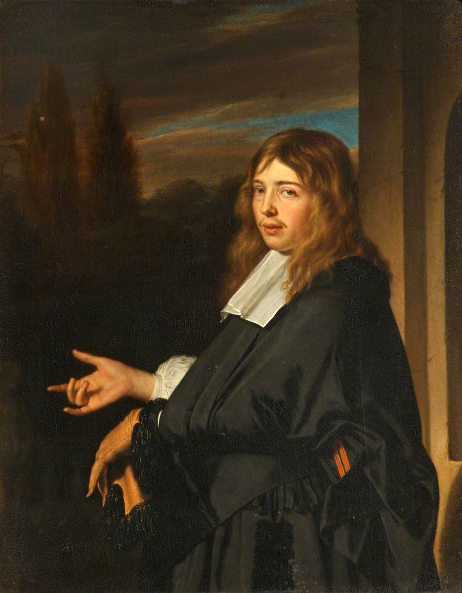 Portrait of a Gentleman, Holding a Glove in His Gloved Hand