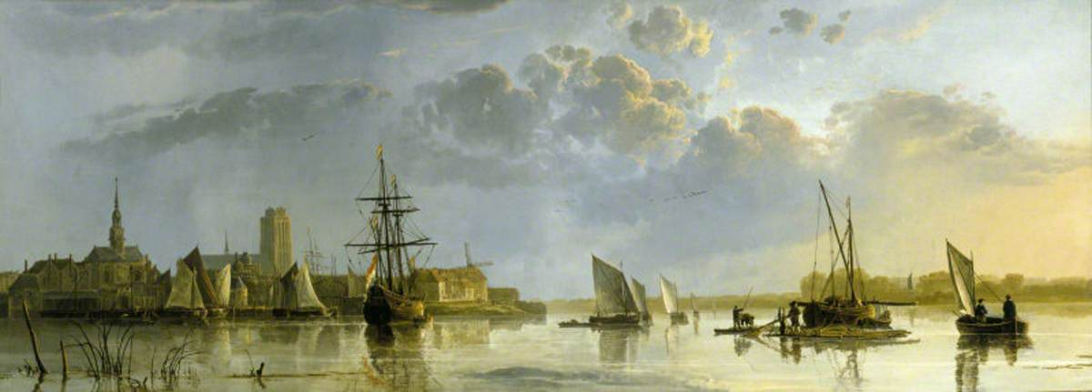 View of Dordrecht (from the Maas)