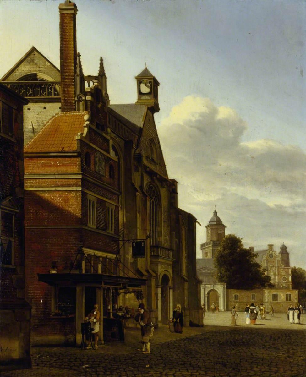 A Square in a Dutch Town