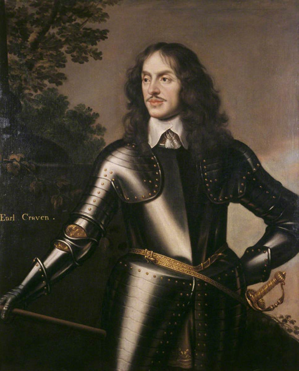 Lieutenant-General Sir William Craven (1608–1697), Earl of Craven and 1st Baron Craven of Hamsted Marshall