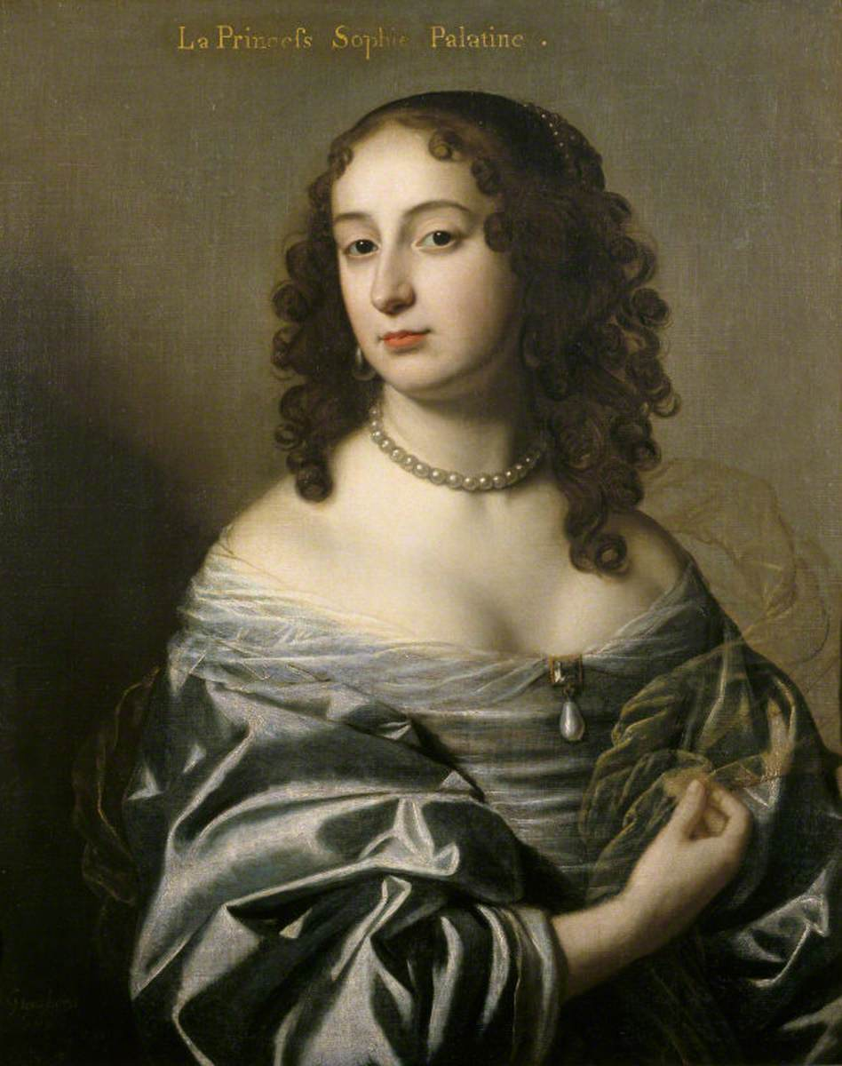 Electress Sophia (1630–1714), Princess Palatine, Consort of Ernest Augustus, Elector of Hanover