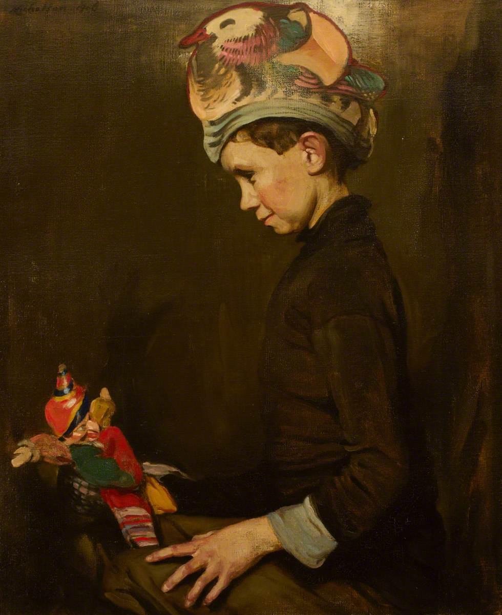 The Paper Cap (Ben Nicholson, 1894–1982, as a Boy)