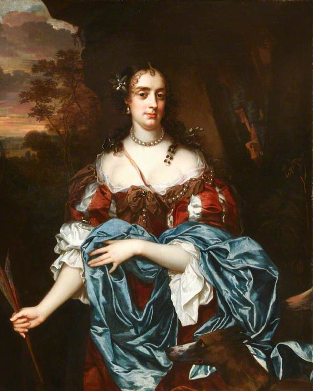 Lady Elizabeth Pope (1660–1719), Lady Lee, Later Countess of Lindsey, as Diana