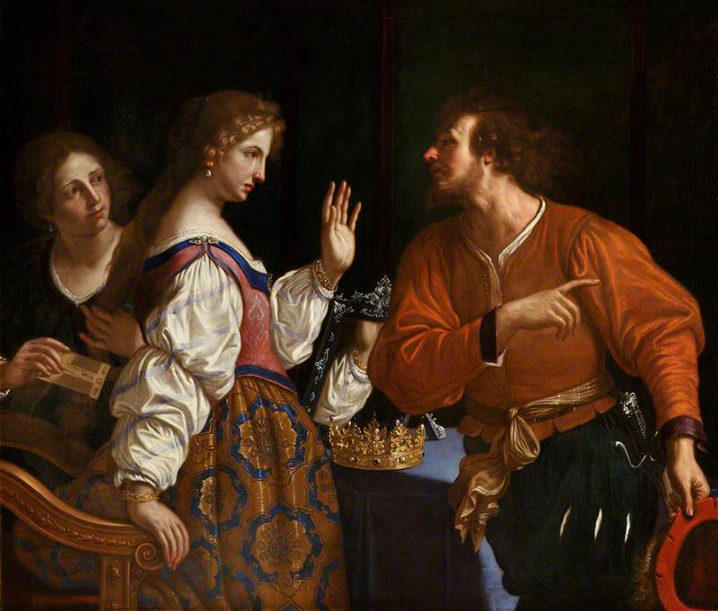 Semiramis Receiving the News of the Fall of Babylon