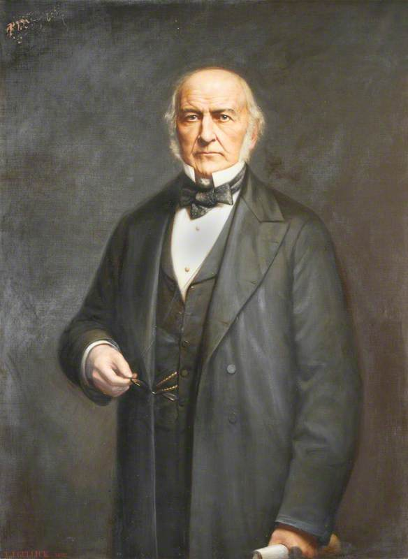 The Right Honourable William Ewart Gladstone (1809–1898), DCL, PC