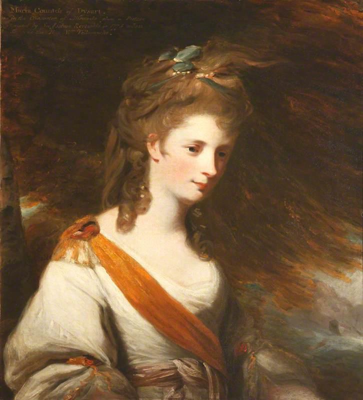 Anna Maria Lewis (1745–1804), Countess of Dysart, as Miranda