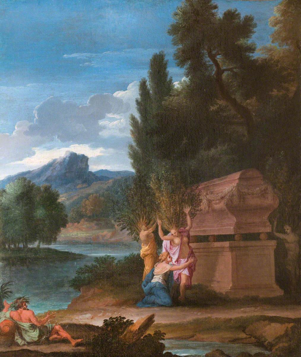 Landscape with the Sisters of Phaeton Transfomed into Trees at His Tomb