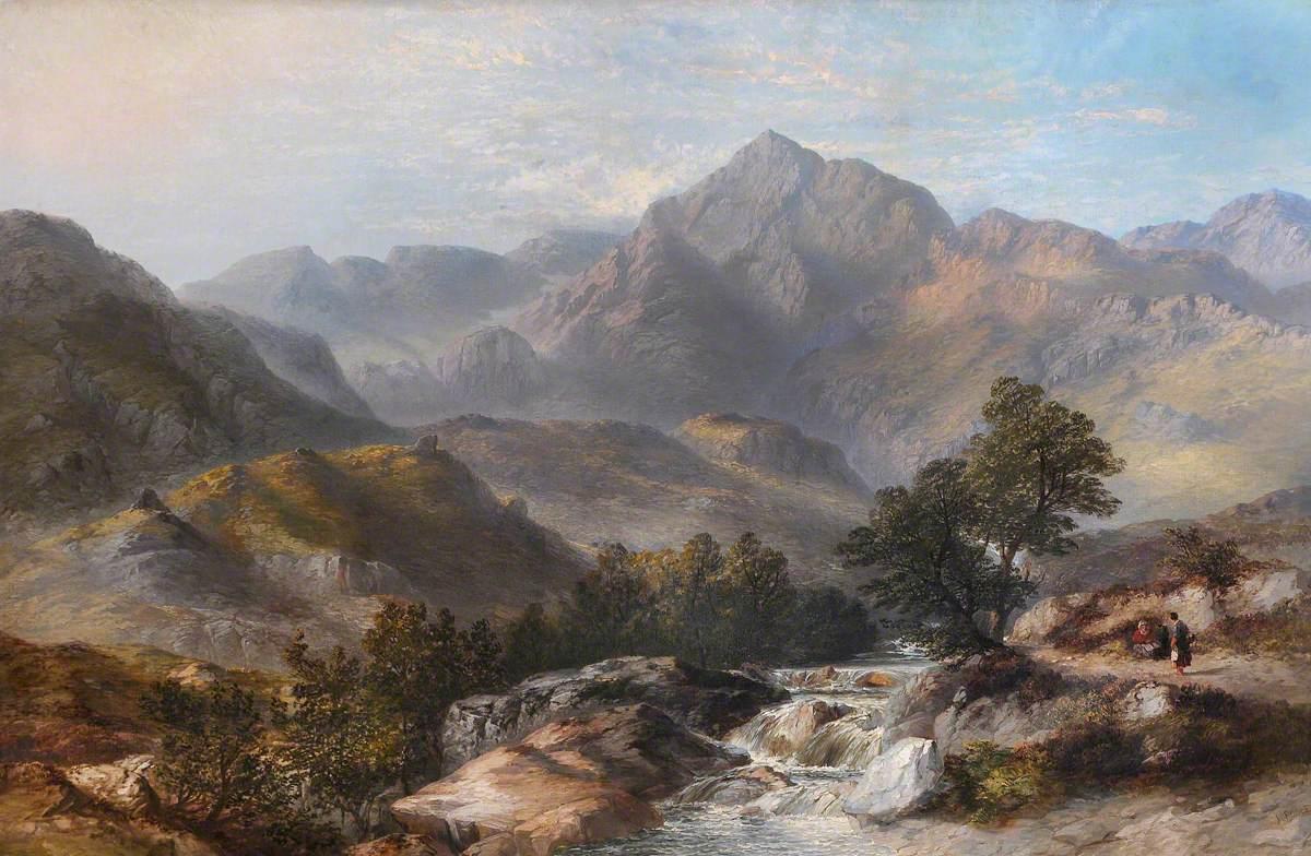 Snowdon from the Llanberis Pass