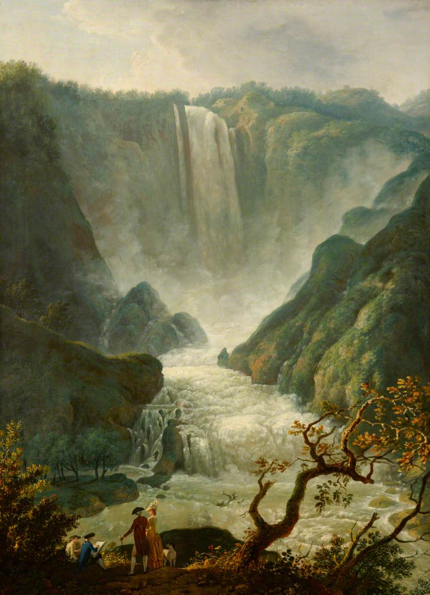 The Falls at Terni, Umbria