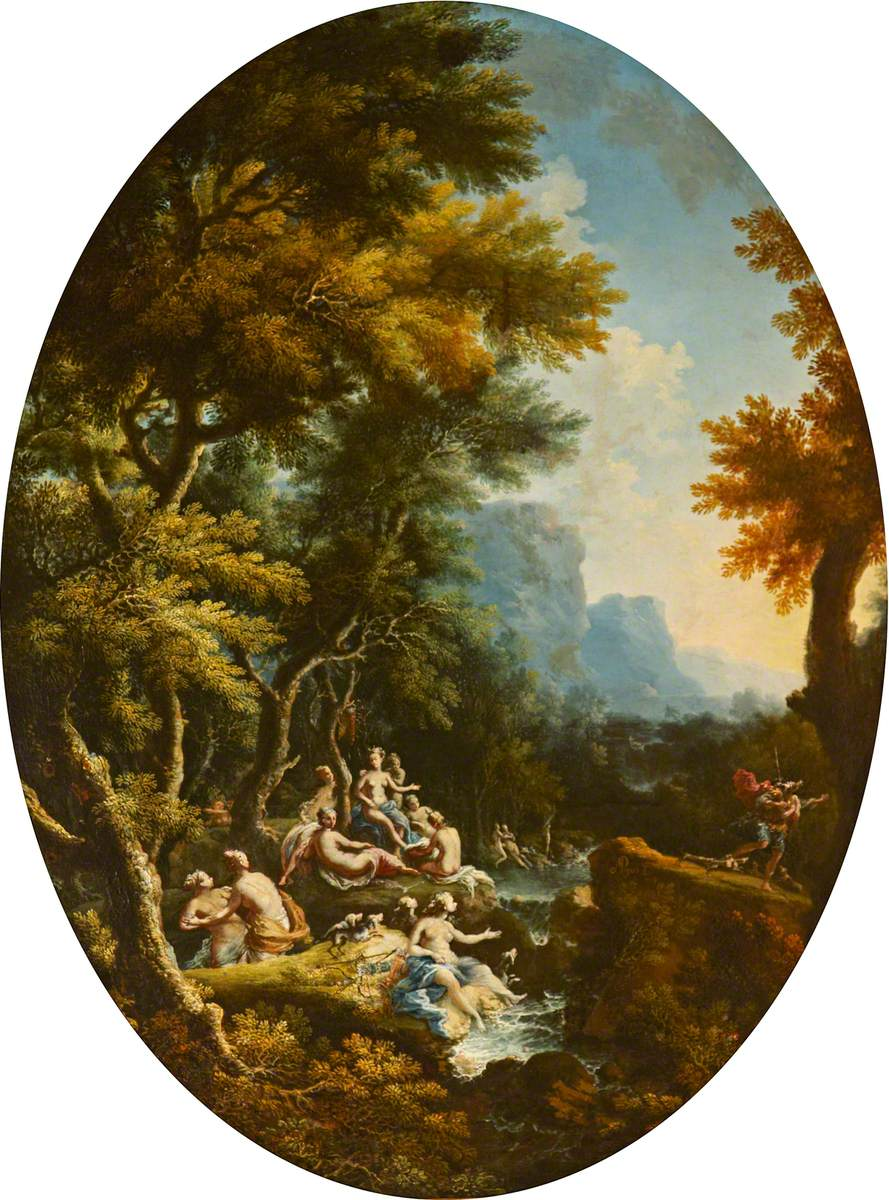 Landscape with Diana and Her Nymphs Surprised by Actaeon