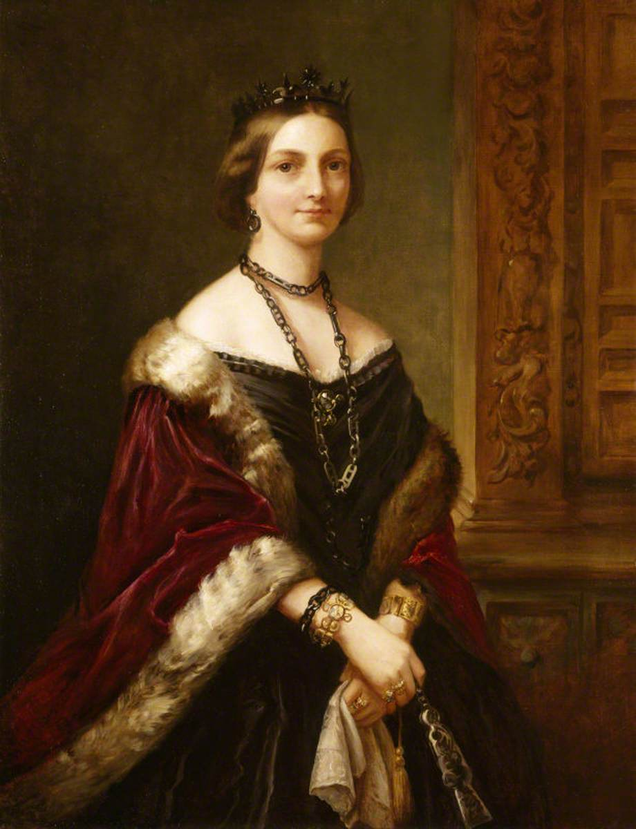 Lady Laura Cecilia Parker (1809–1883), Countess of Antrim