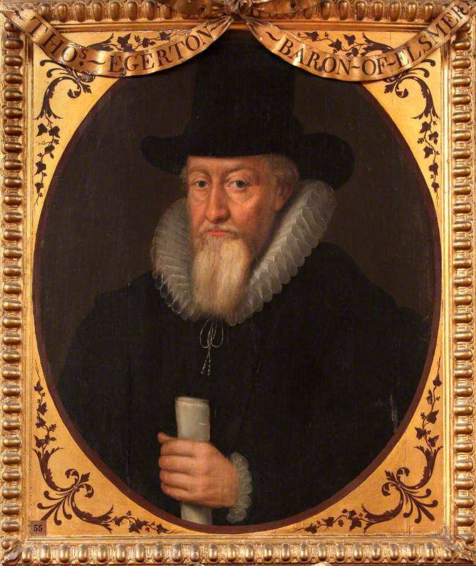 Sir Thomas Egerton (1540–1617), 1st Viscount Brackley