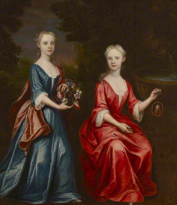 Ann Kempthorne and Her Sister, Charlotte Kempthorne