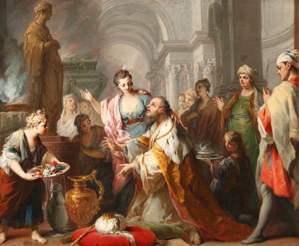 Solomon Sacrificing to His Wives' Idols