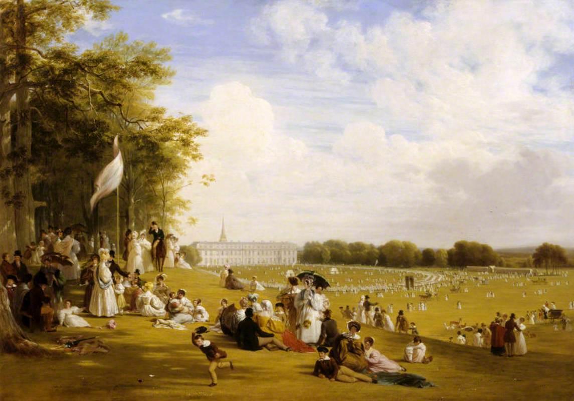 Fête in Petworth Park, 1835
