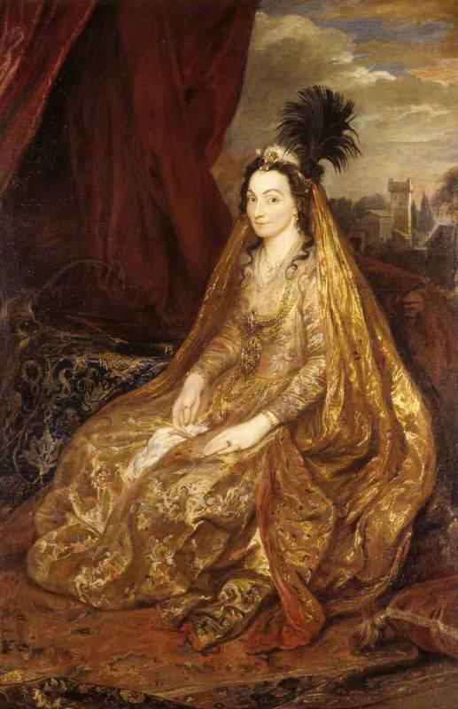 Teresia Khan (1579/1580–1668), Lady Shirley
