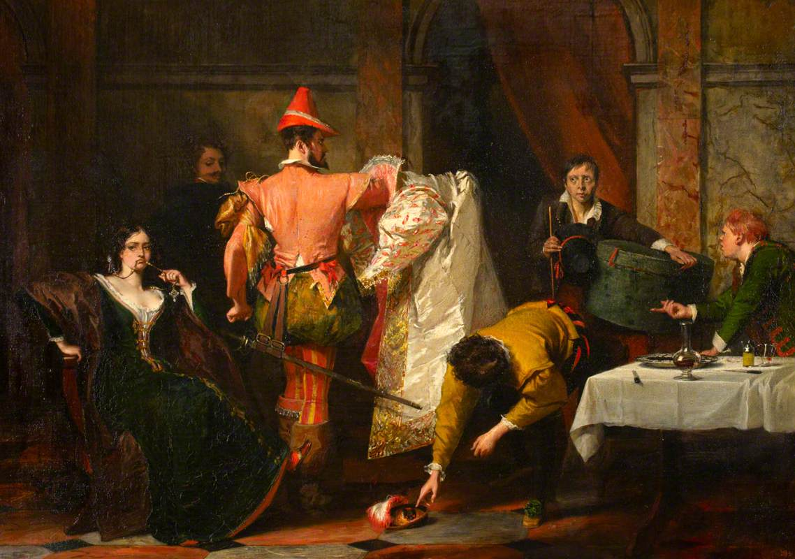Catherine and Petruchio