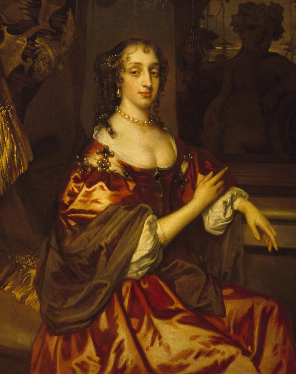 Portrait of an Unknown Lady in Red