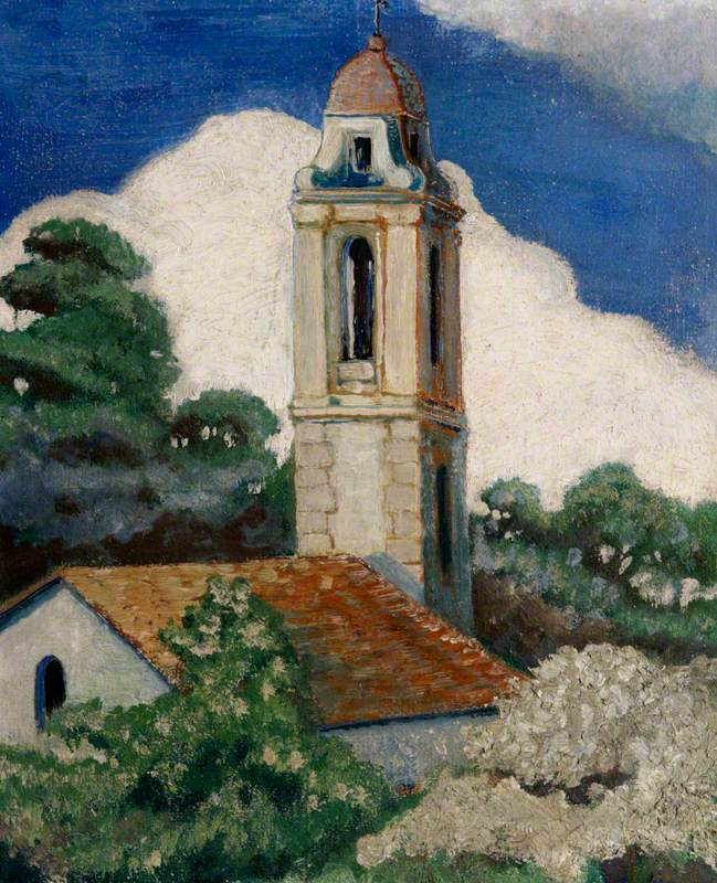 A Church in Rapallo, Italy