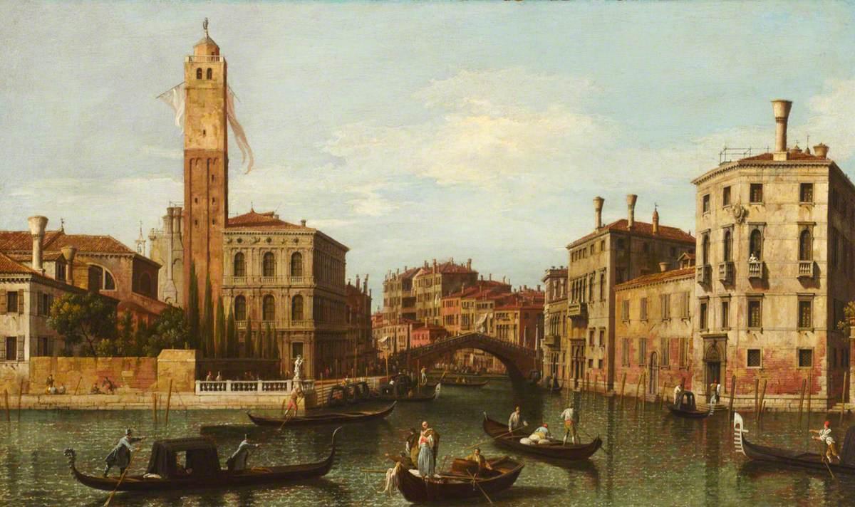 The Entrance to the Cannaregio, Venice