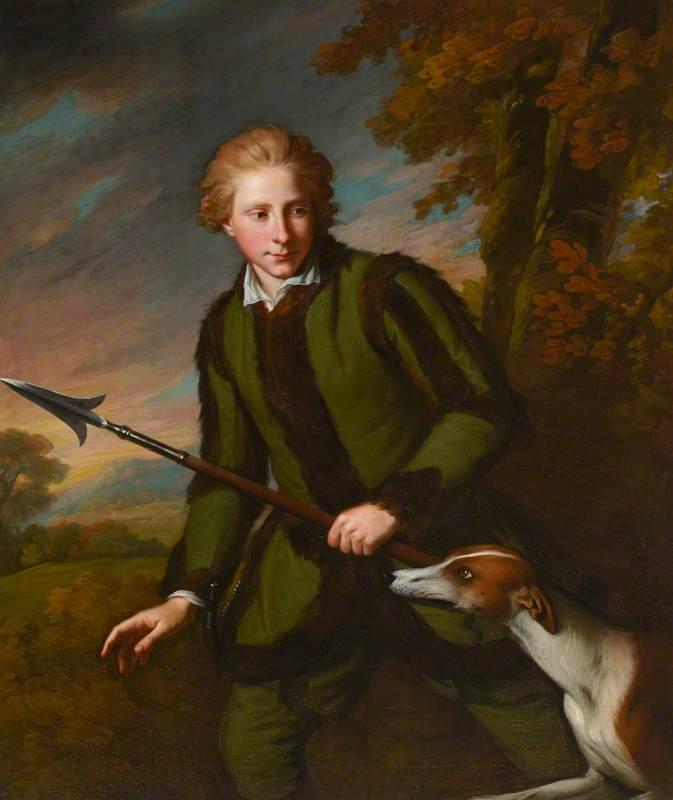 Sir Harry Fetherstonhaugh (1754–1846), 2nd Bt, MP, as a Boy