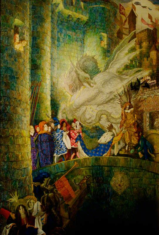 The Sleeping Beauty: The Aged King Pleads with the Good Fairy