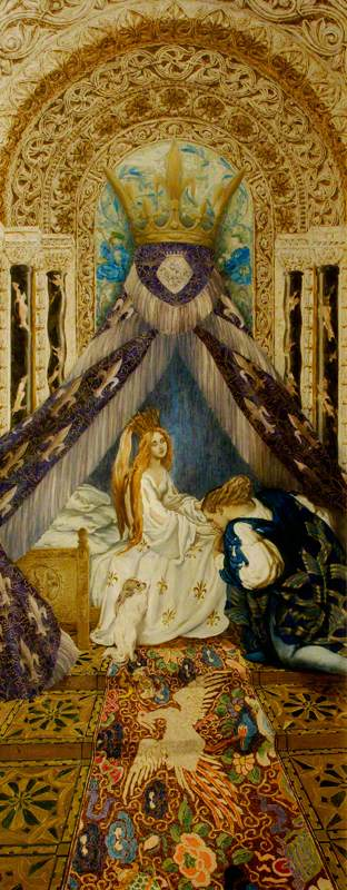 The Sleeping Beauty: The Prince Discovers the Princess and Wakes Her with a Kiss