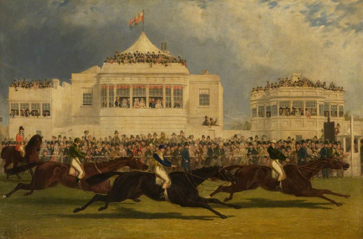 The Race for the Emperor of Russia's Cup at Ascot, 1845