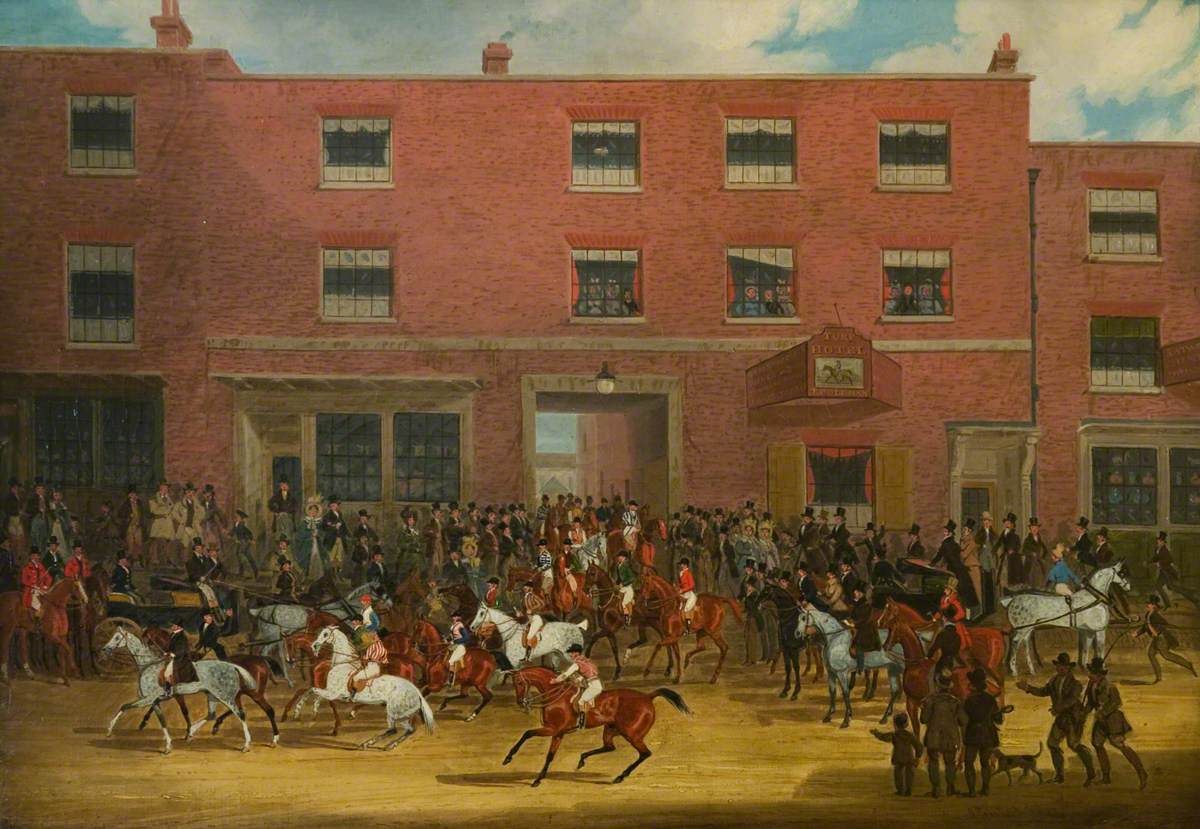 The St Albans Grand Steeplechase of 8 March, 1832